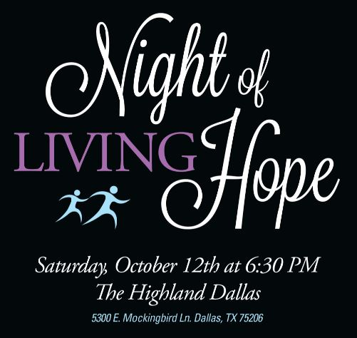 Night of Living Hope: Saturday, October 12th, 2019